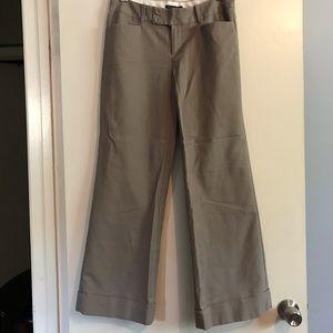 Banana Republic brown pants, size 6S